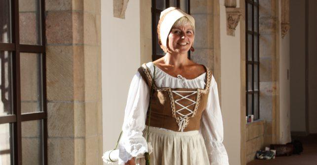 Historische Tour mit Anna Agricola auf dem Schloßberg